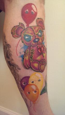 Teddy Bear and Ballons