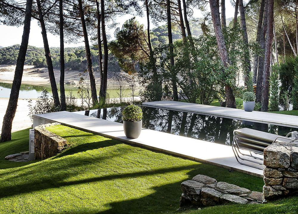 la casa del lago freehand arquitectura