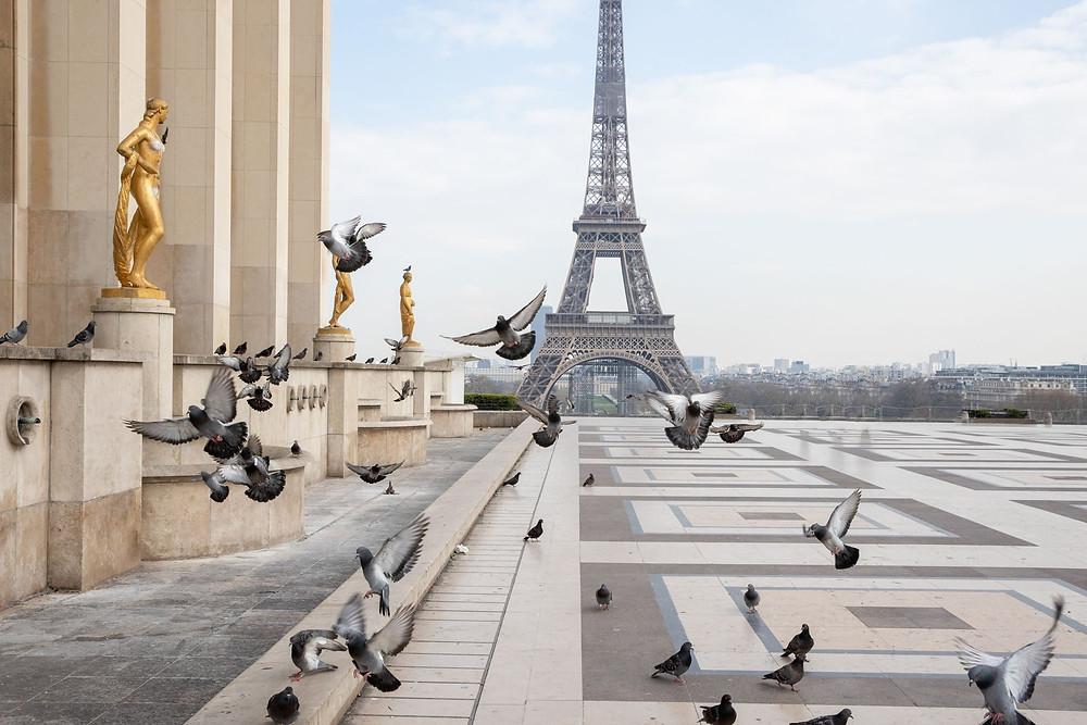 París en el confinamiento.