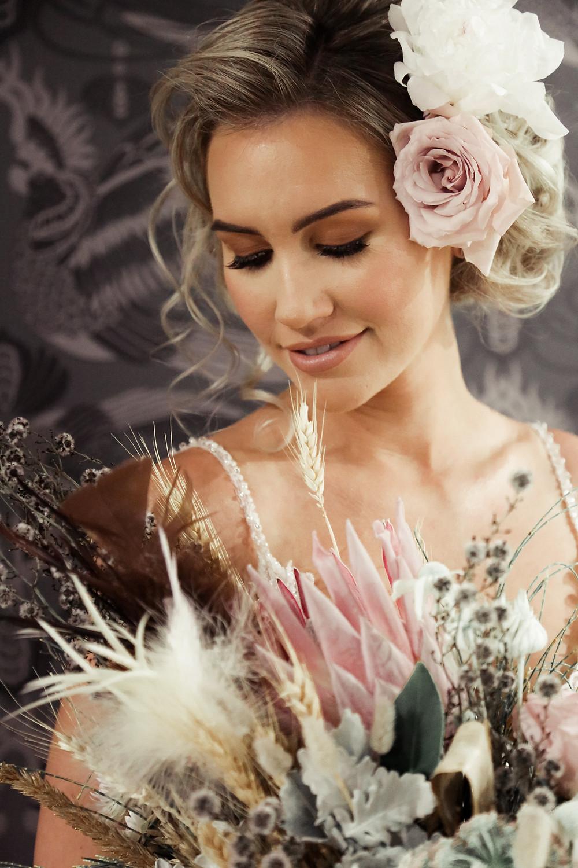 Wedding Makeup Bride Flowers Shellie Belle Makeup