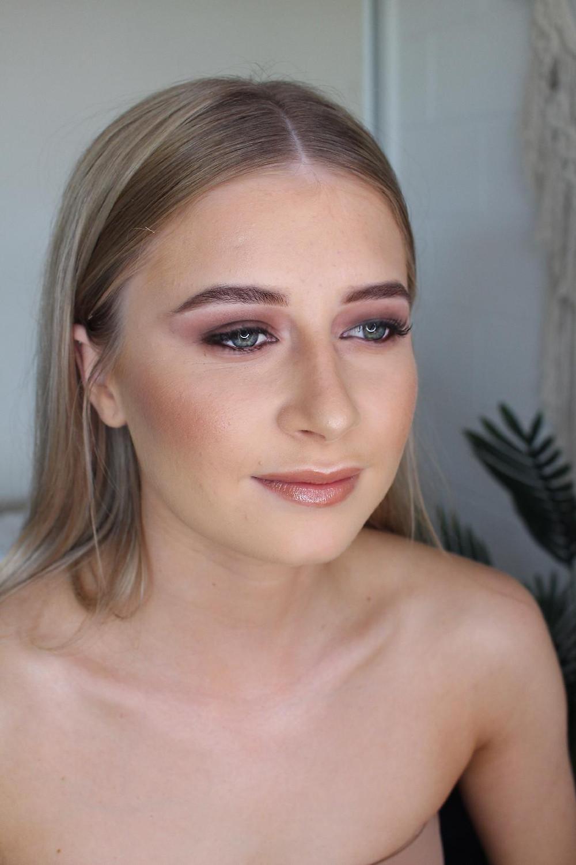 Brown Smokey Eye Prom Makeup