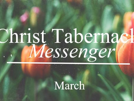 CTAC Messenger /// March Newsletter