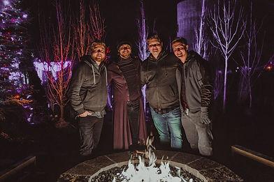 Chandler, Skyler, Wyatt, and Dan at Evermore Park