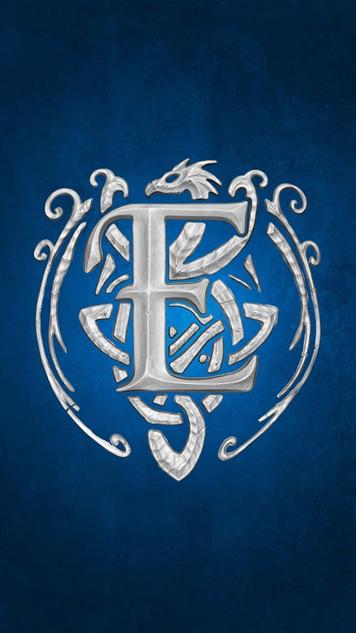 Aurora Themed Evermore Logo