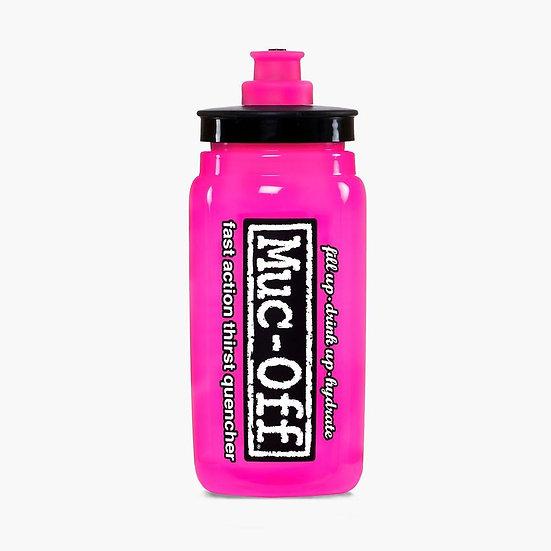 Muc Off X ELITE FLY WATER BOTTLE - 550ML - PINK