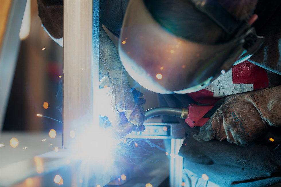 Schweissen von rostfreiem Stahl