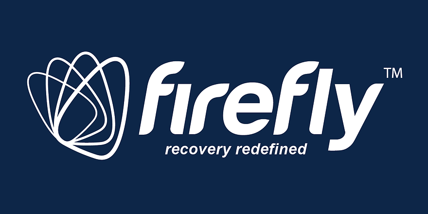 Logo Navy with white text recovery redef