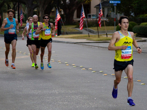 Ian Burrell Selected For Team USA's WC Marathon Team