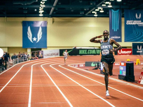 Chelimo Wins First US Title At USA Indoors