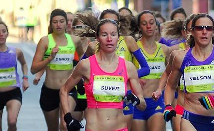 Suver Takes 6th at US 12k Championships