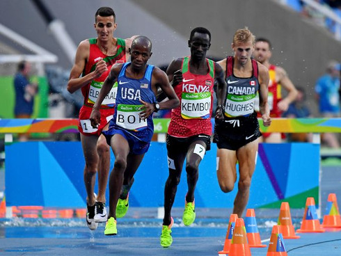 Bor Takes Seventh In Steeplechase Olympic Final