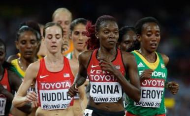 Saina 8th In World Championships 10k