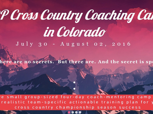 ADP Hosts Cross Country Coaches Mentoring Camp