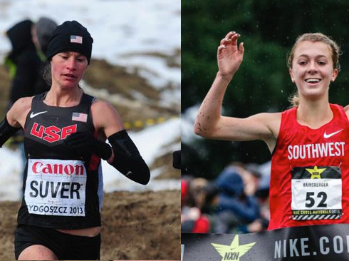 Suver & Rainsberger Selected For Team USA For Great Edinburgh Cross Country