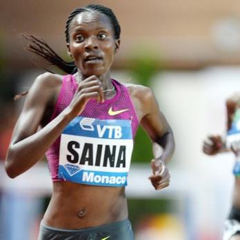 Betsy posting a 14:39.49 5k in Monaco