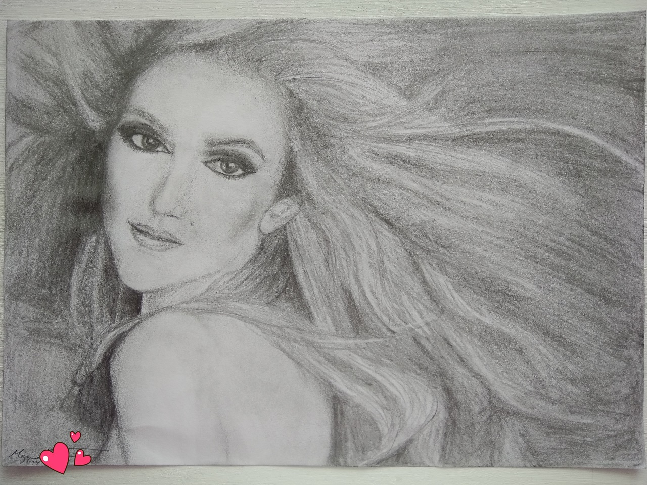 IMG_My drawing Celine Dion