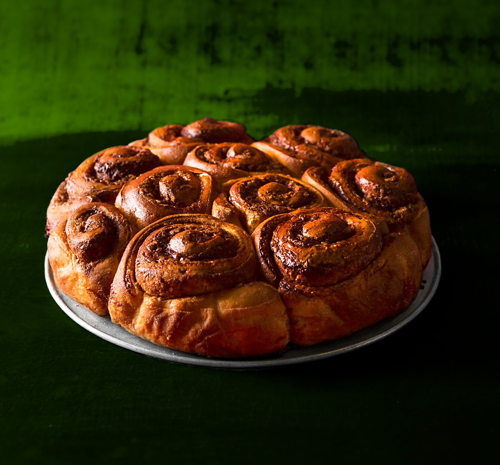 Cinamoninių bandelių pyragas, Alfas Ivanauskas, receptas