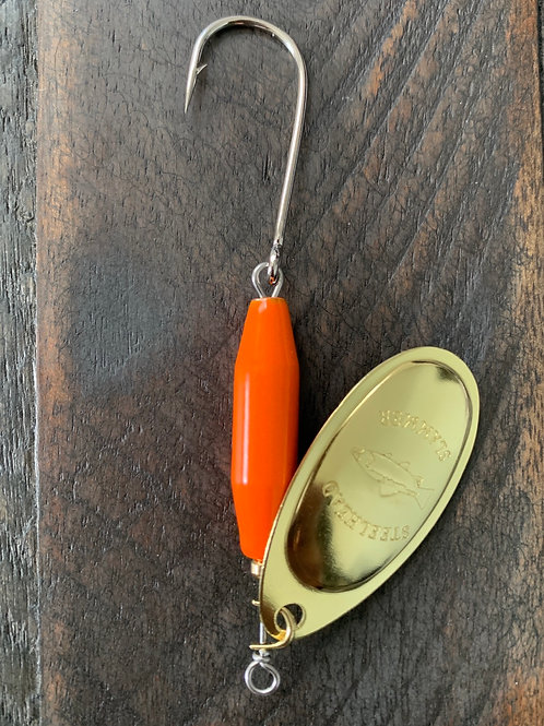 Blazin Orange/Brass