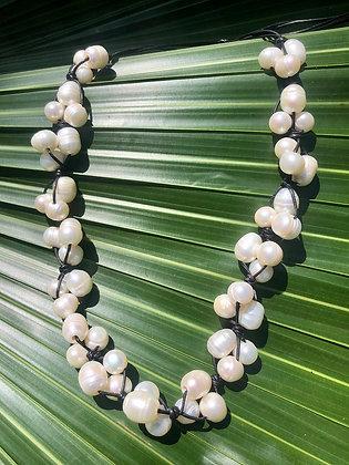 Plumeria Lei Necklace