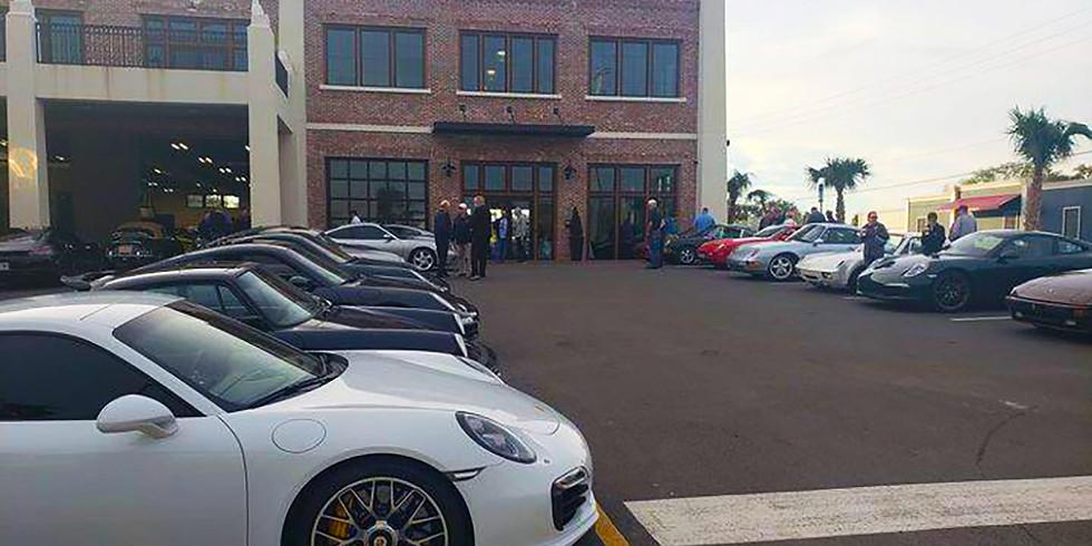 Cars and Coffee Porsche Crown Region