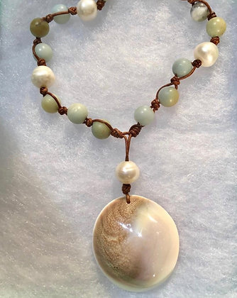 Seashell Lei Necklace