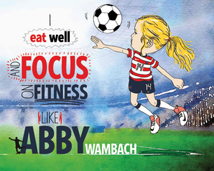 Abby Wamback Focuses on Eating Well and Fitness