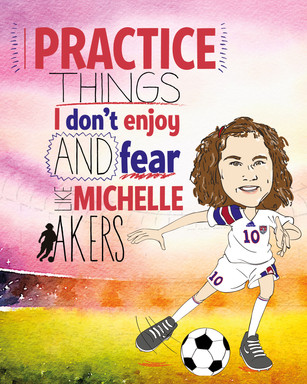 Michelle Akers Practices Things She Does Not Enjoy And Fears