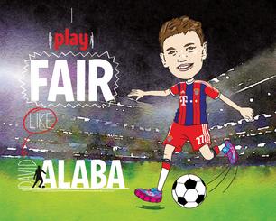 David Alaba Plays Fair