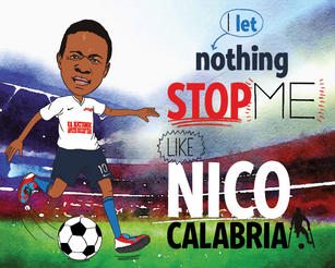 Nico Calabria Let's Nothing Stop Him