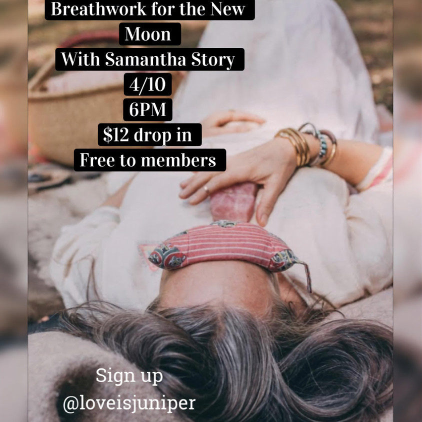 Breathwork for the New Moon