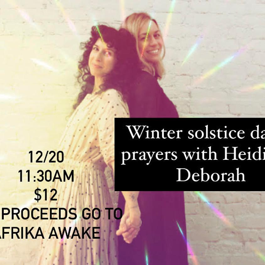 Winter Solstice Dance Prayers