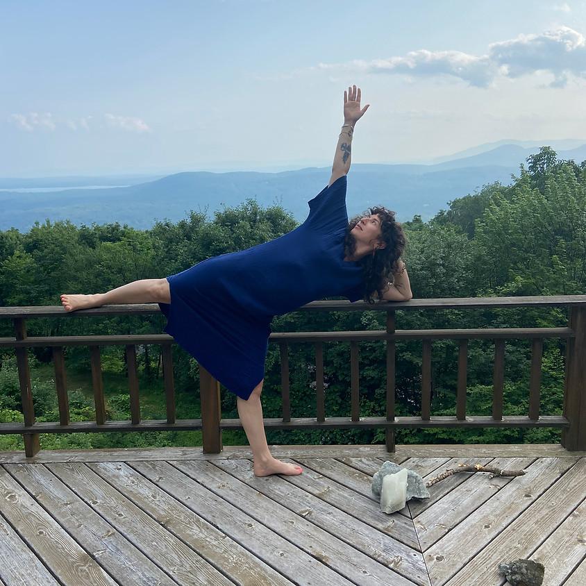 Pop Up Yoga Class in Kingston, NY
