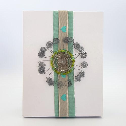 4 x Silkscreen Serviettes Boxed