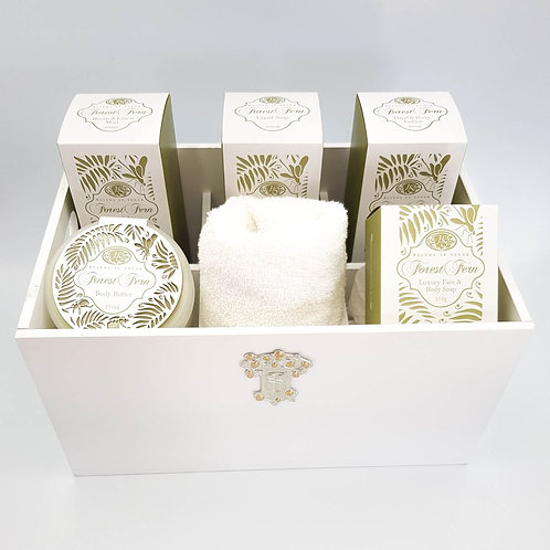 Gift Box with Full Set of Bath & Body Products