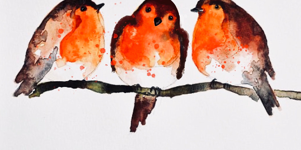 Robins - Family Watercolour Workshop