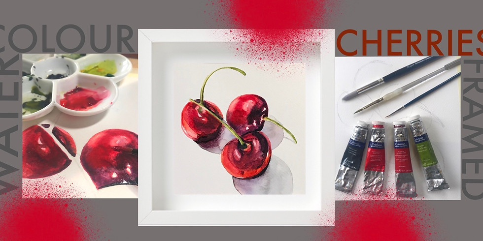 Cherries Watercolour Workshop