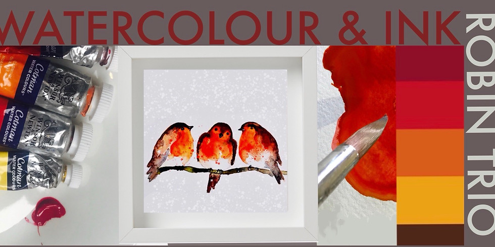 Robins Watercolour Workshop Third Date