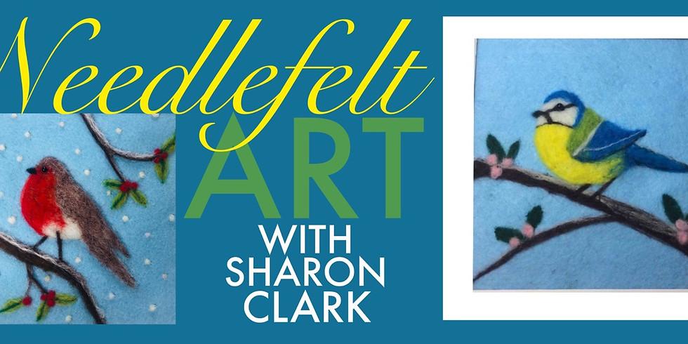 Bird Needlefelt Art Workshop with Sharon Clark