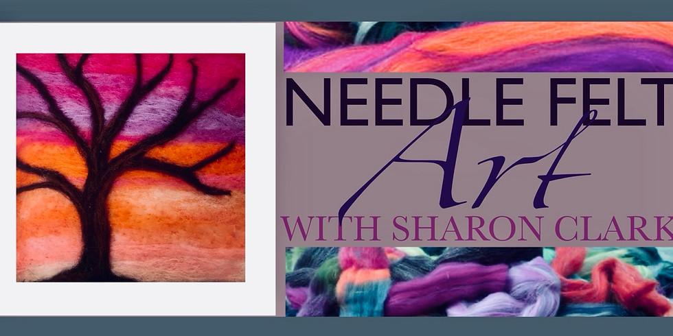 Autumn Sunset Needle Felt Workshop with Sharon Clark