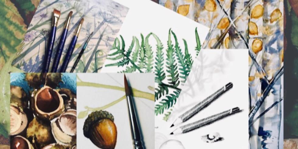 All About Autumn Watercolour Workshop