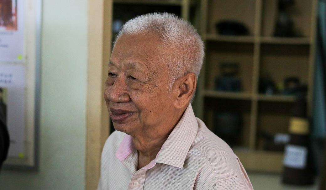 吉兰丹华人历史及文化协会会长——黄崇锐老师
