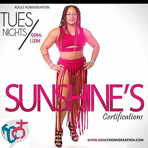 Contact me if you would like to be Sunsh
