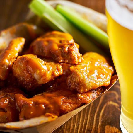 Honey-Glazed Chicken Wings