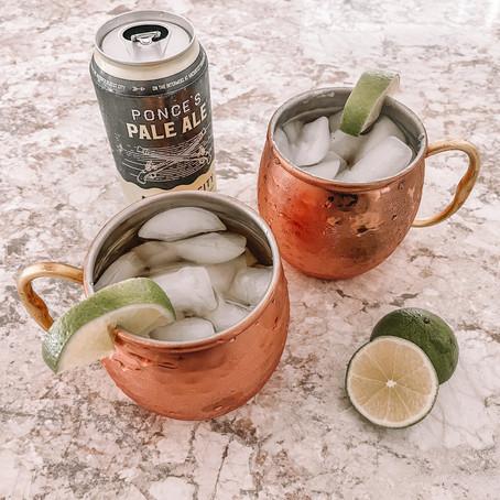 Ponce's Pale Ale Ginger Beer Mule