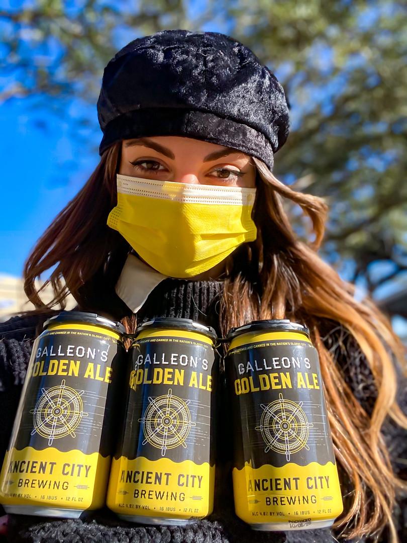 Golden Ale Mask