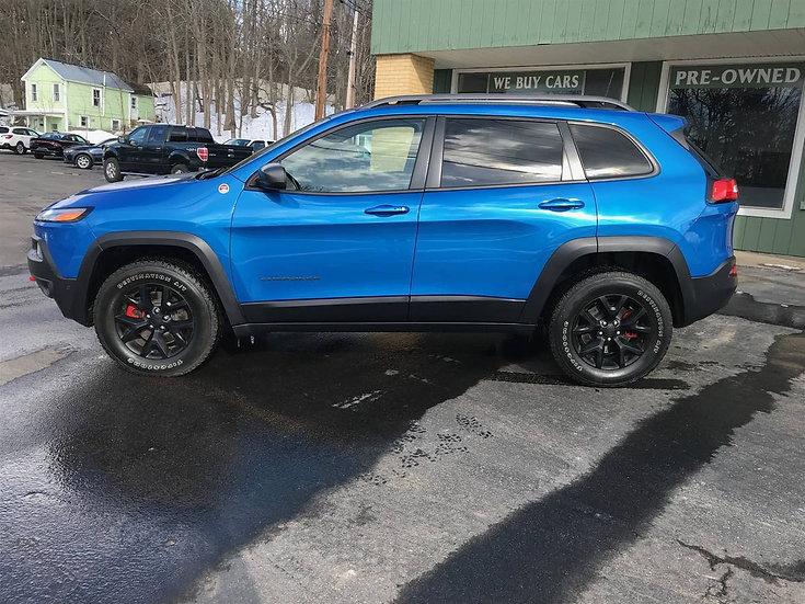 2018 Jeep Cherokee Tailhawk L Plus