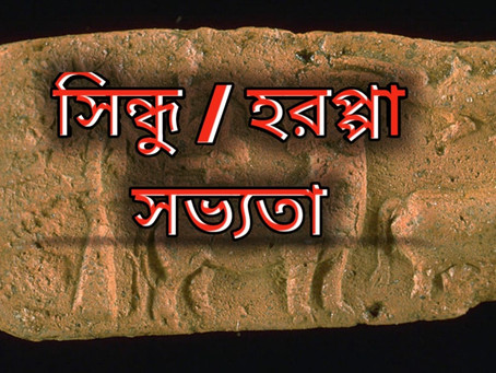 হরপ্পা/সিন্ধু সভ্যতা সম্পর্কে সংক্ষেপে কিছু গুরুত্বপূর্ণ কথা