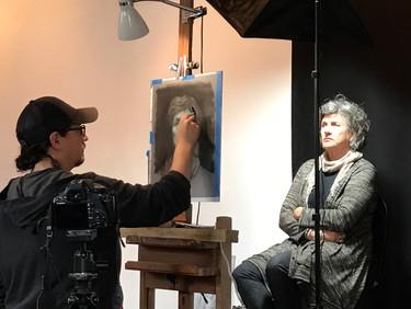 David Kassan Demo at The Italian Artshop, Rondebosch today, Saturday, 5 August, 2:00pm untill 7:00pm