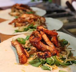 BBQ Chicken Flat Bread coming up 👍🏼#BradsBistro
