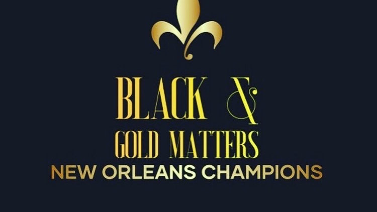 Black and Gold Matters (c)